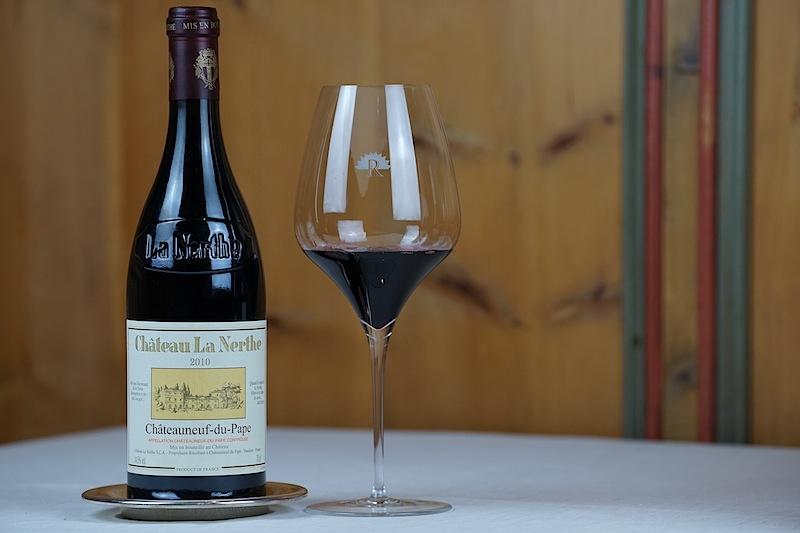 Der 2010 Chateauneuf du Pape rouge vom Château La Nerthe war der ideale Begleiter zum Akt sieben