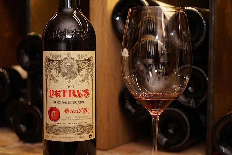 Petrus steht auch ganz oben auf der Liste eines echten Weinfreundes