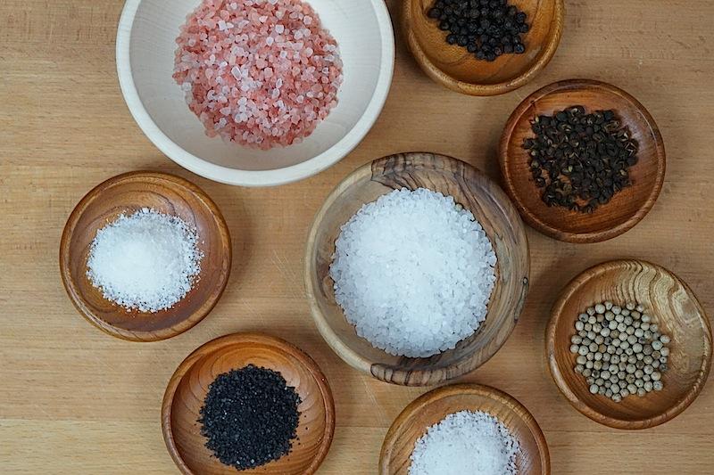 Wir testen regelmäßig die verschiedensten Salz oder Pfeffersorten