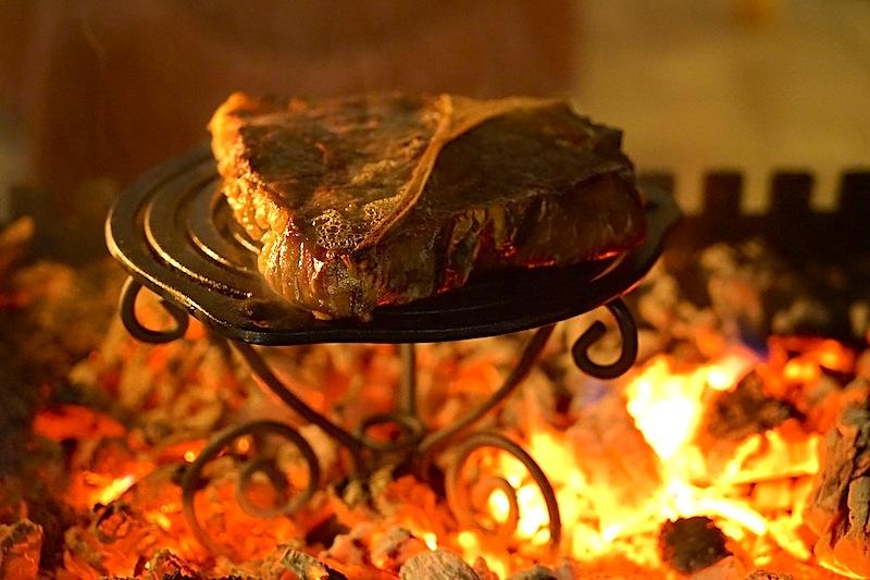 ... das Ergebnis war erstklassig. Ein saftiges Steak wie vom Grill