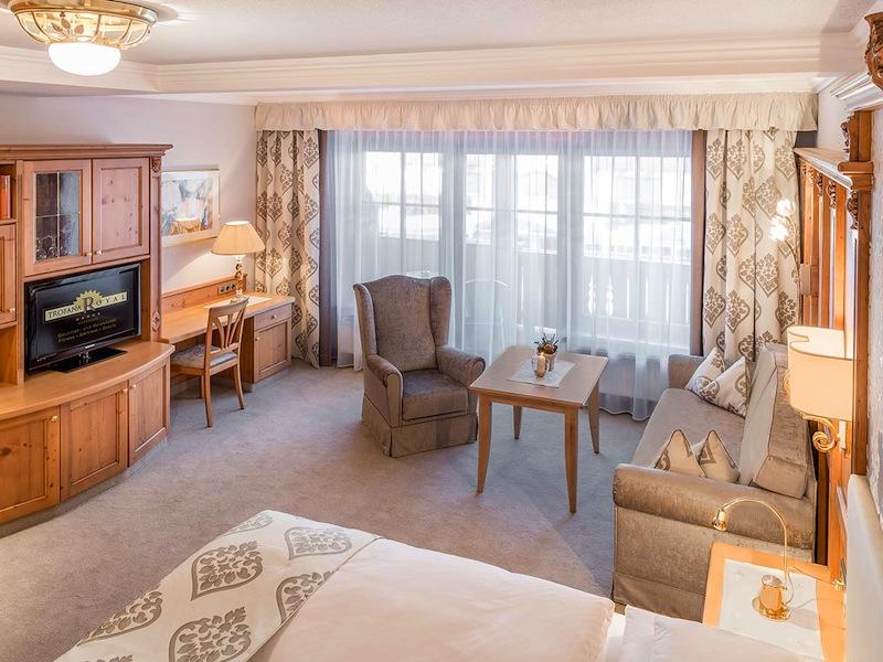 Doppelzimmer De Luxe: Für den Aufenthalt zu zweit die ideale Einsteigerkategorie