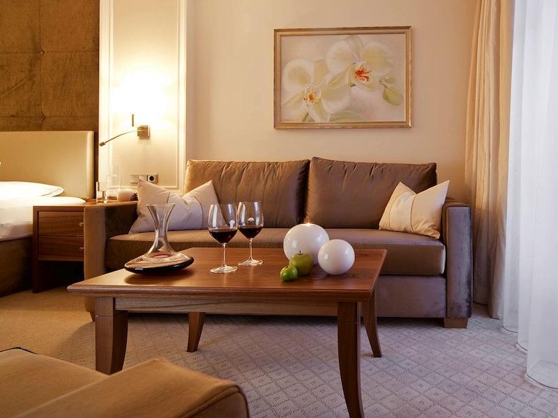 Für alle Annehmlichkeiten bieten die Gästezimmer im Trofana Royal den richtigen Rahmen