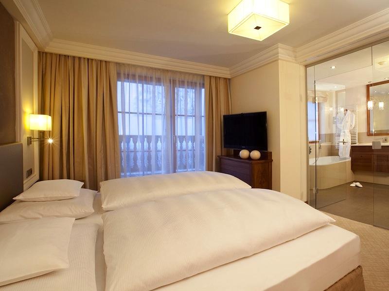 Die Doppel- und Einzelzimmer im Trofana Royal sind allesamt großzügig geschnitten