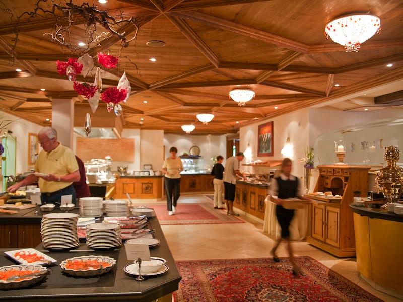 Auch das Frühstücksbuffet im Trofana Royal ist außergewöhnlich umfangreich