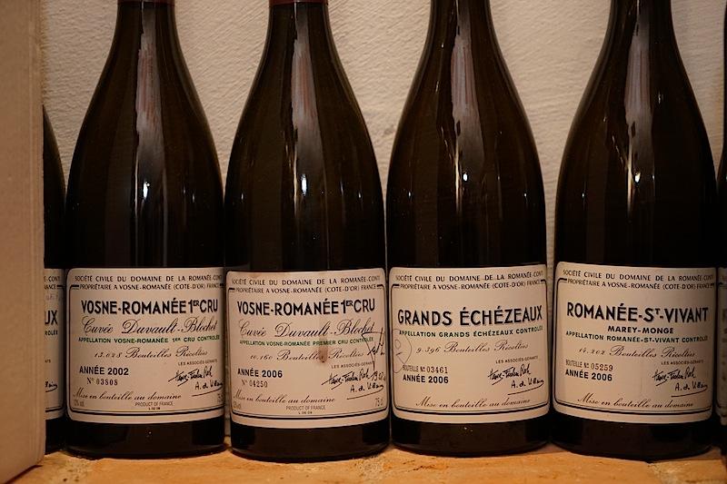 Vosne Romanee 1er Cru: Leider schon geleert. Dafür würde so mancher Weinliebhaber sein Hab und Gut veräußern