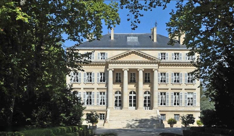 Das schöne Anwesen von Château Margaux ist eine Reise wert