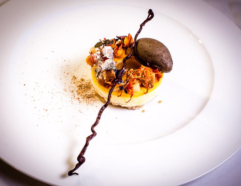 Mehr als nur Champagner Aromen in Textur: Das Dessert von Marco Müller
