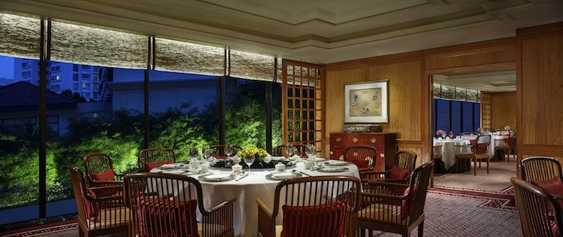 Im kleinen Private Room feiern gerne Familien, die die Privatsphäre bevorzugen