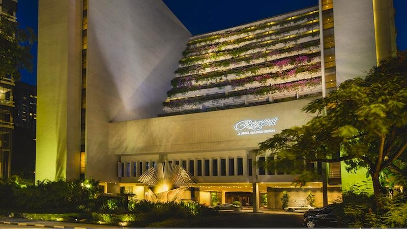 Im Regent Hotel Singapur ist das Sternerstaurant Summer Palace beheimatet
