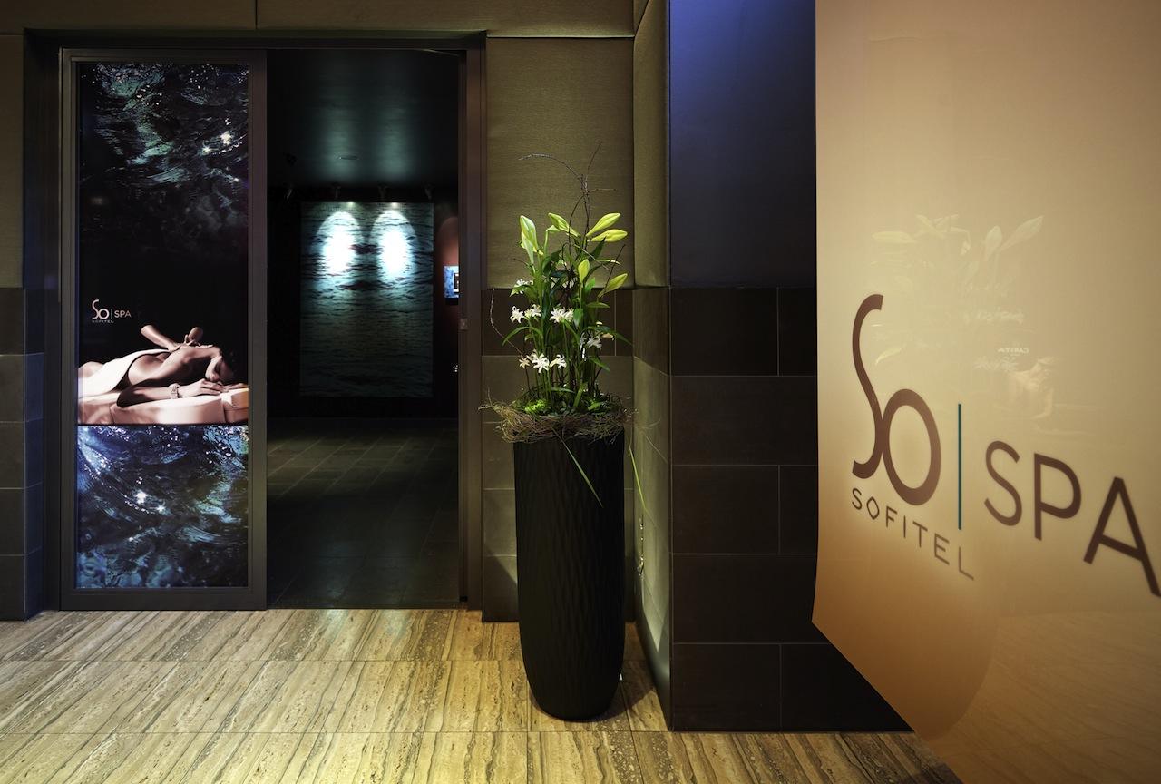 Eingang zum So Spa / © Sofitel Munich Bayerpost