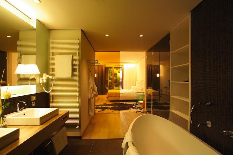 Badezimmer der Calla-Suite / © Hotel Therme Meran GmbH