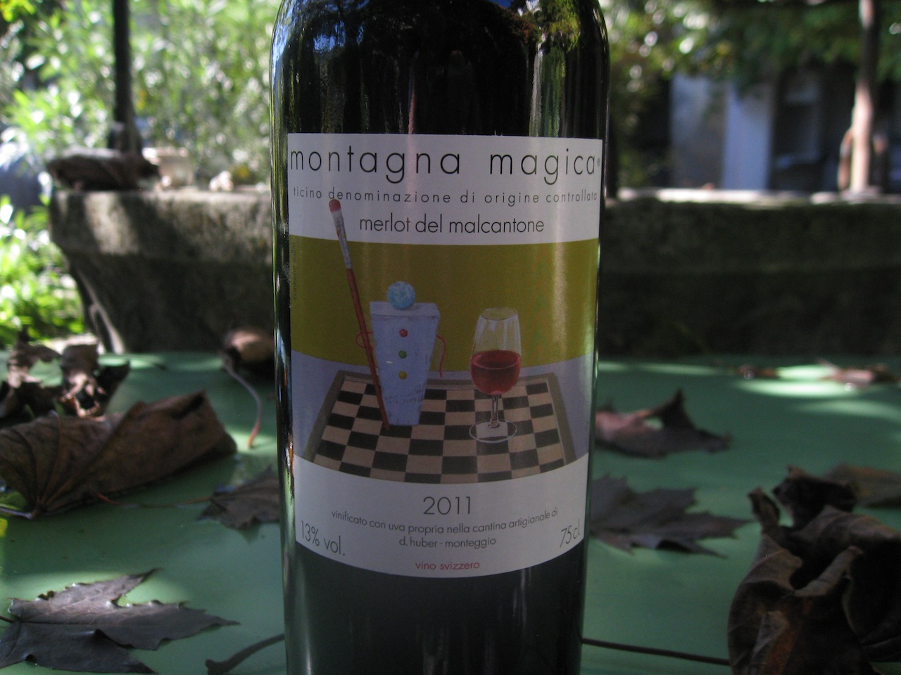Daniel Huber Merlot Montagna Magica 2011 / © HuberVini