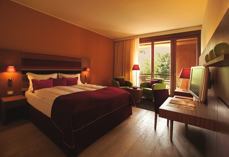 Blick in ein Doppelzimmer Comfort / © Hotel Therme Meran GmbH