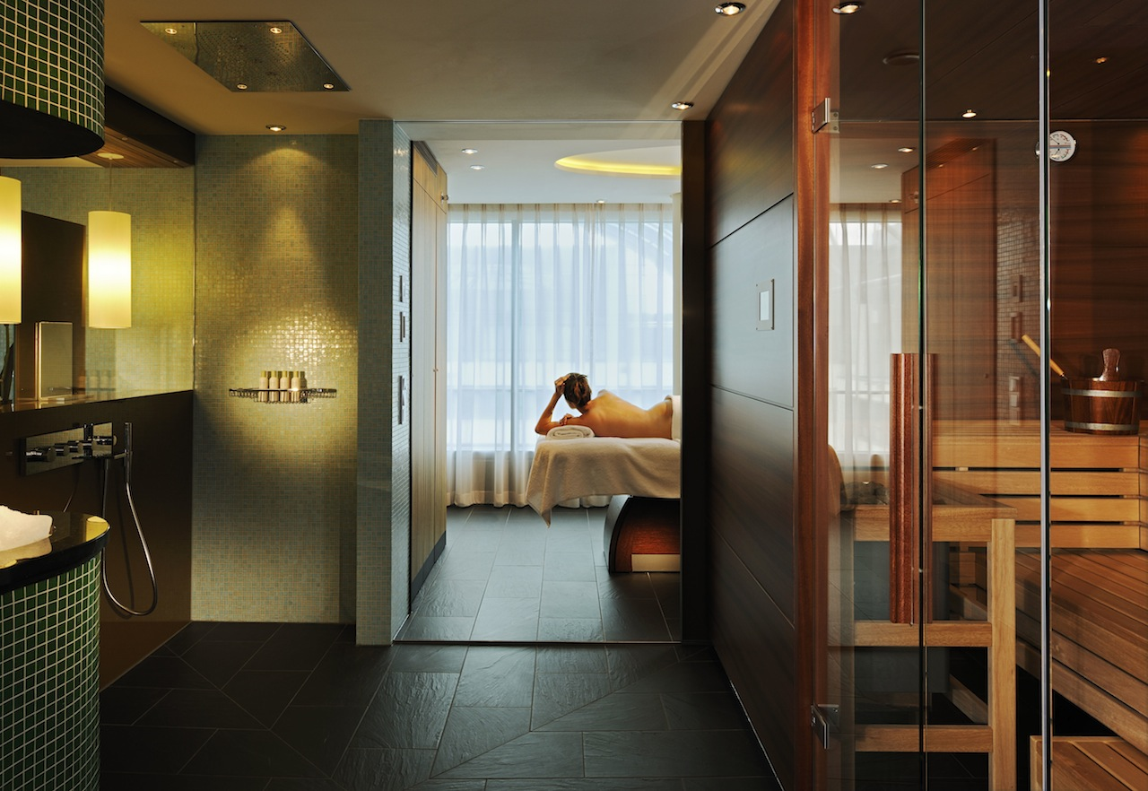 Der Wellnessbereich der Lifestyle Suite im InterContinental / © InterContinental