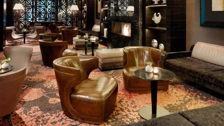 Die erlesene Lounge im Hyatt Regency Düsseldorf / © HYATT REGENCY