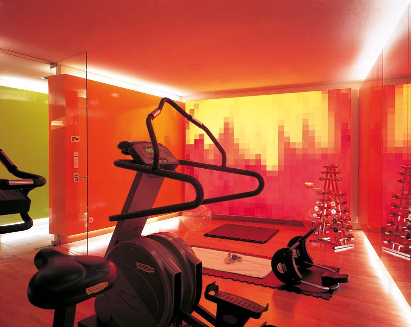 Fitnessraum im SIDE Hotel Hamburg / © SIDE/Seaside Hotels, Foto: Klaus Frahm