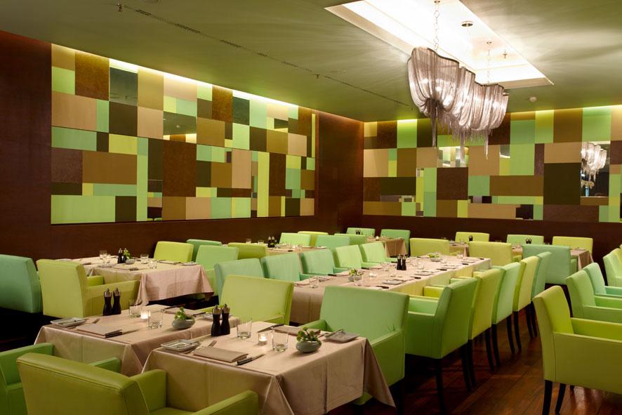 Innenansicht Restautant [m]eatery bar + restaurant / © SIDE/Seaside Hotels, Fotograf: Klaus Frahm