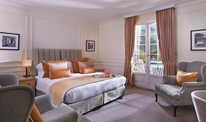 Das schöne Deluxe-Doppelzimmer / © Althoff Hotel Villa Belrose