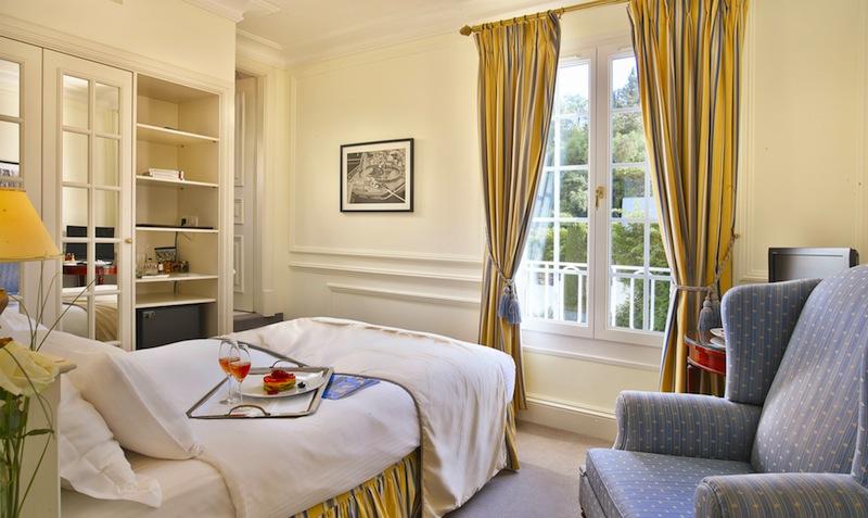Schönes Einzelzimmer in der Villa Belrose / © Althoff Hotel Villa Belrose
