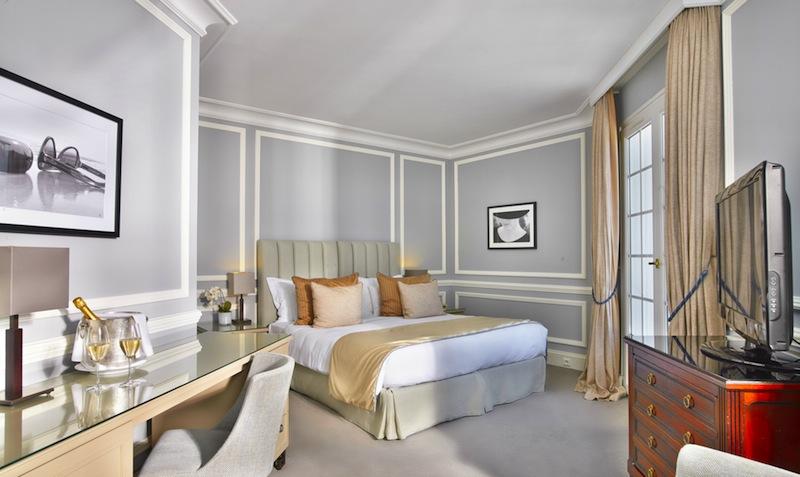 Traumhaft schlafen im Prestige-Doppelzimmer / © Althoff Hotel Villa Belrose