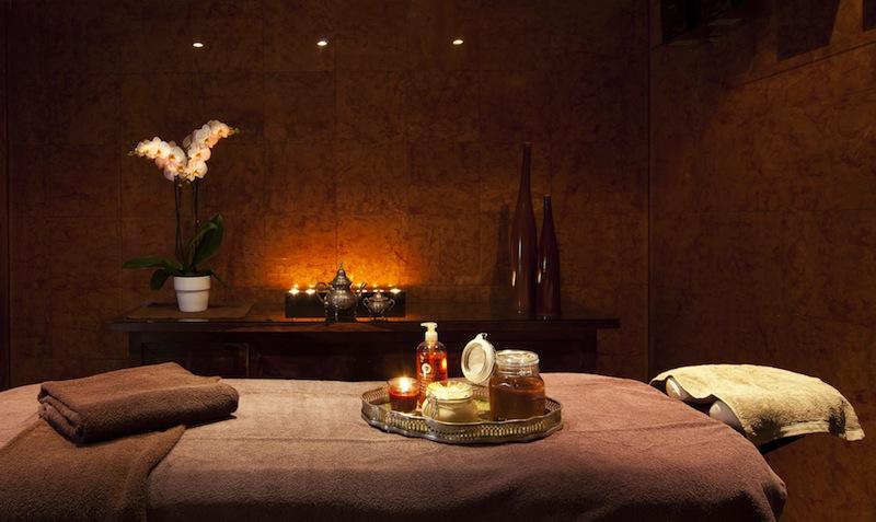 Angenehme Atmosphäre herrscht in den Räumlichkeiten des Spa in der Villa Belrose / © Althoff Hotel Villa Belrose