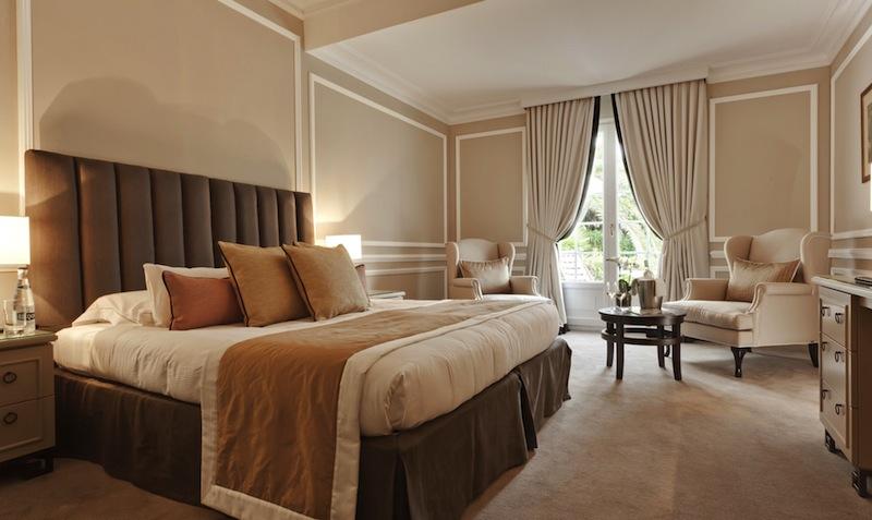 Superior-Doppelzimmer mit Gartenblick / © Althoff Hotel Villa Belrose