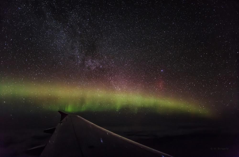 Auch Wilfried Bongartz war erfolgreich bei der Polarlichtjagd / © Wilfried Bongartz