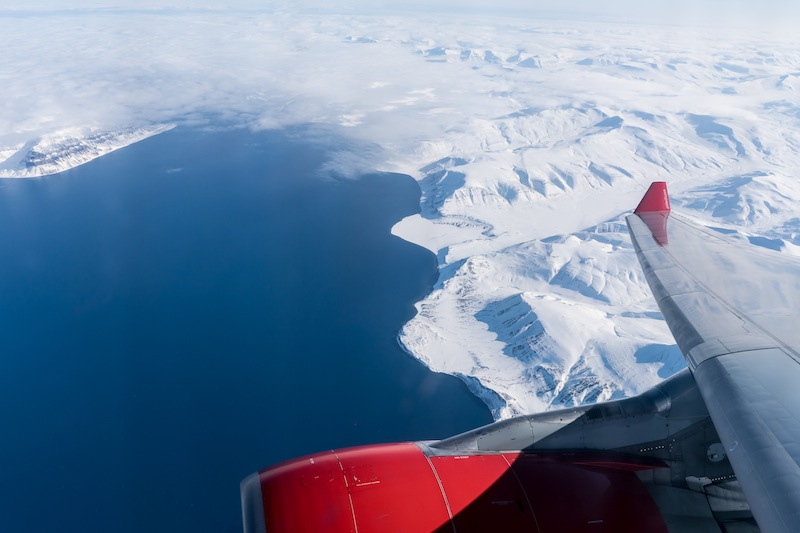 Traumhaftes sonniges Wetter über Spitzbergen / Svalbard / © Redaktion Lustfaktor, Foto Patrick Becker