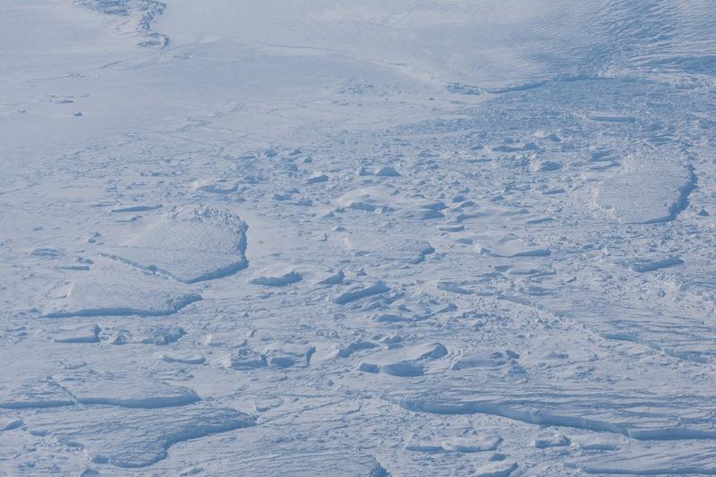 Kein Wasser mehr in Sicht. Die Kälte schlägt zu. Eis soweit das Auge reicht / © Redaktion Lustfaktor, Foto Patrick Becker