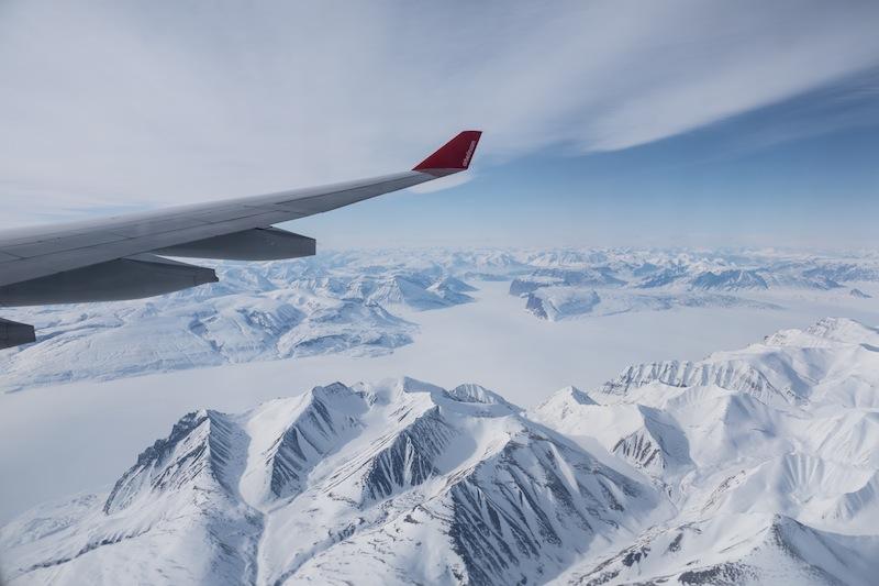 Atemberaubende Blick aus niedriger Flughöhe - der Sonderflug von airberlin machte es möglich / © Redaktion Lustfaktor, Foto Patrick Becker