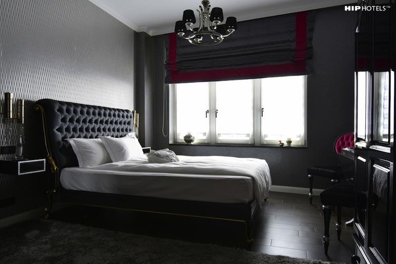 Eines der schönen Doppelzimmer im Designhotel Homboldt1 in Köln / © HIP Hotels / Humboldt1