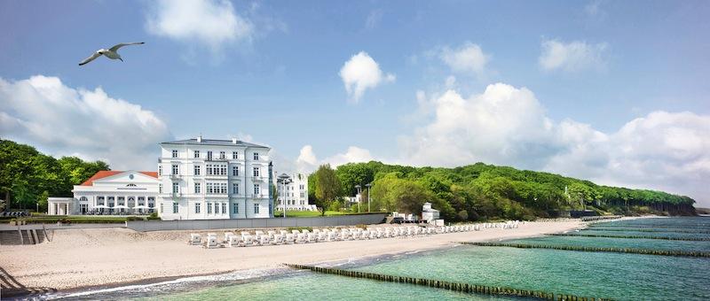 Das Grand Hotel Heiligendamm: Traumhaft gelegen und mit erstklassiger Service. Herrschaftlich residieren an der deutschen Ostseeküste / © Grand Hotel Heiligendamm