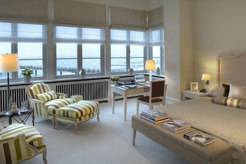 Die attraktiven Deluxe Zimmer im Grand Hotel Heiligendamm - atemberaubende Sicht auf die Seebrücke und die Ostsee / © Grand Hotel Heiligendamm
