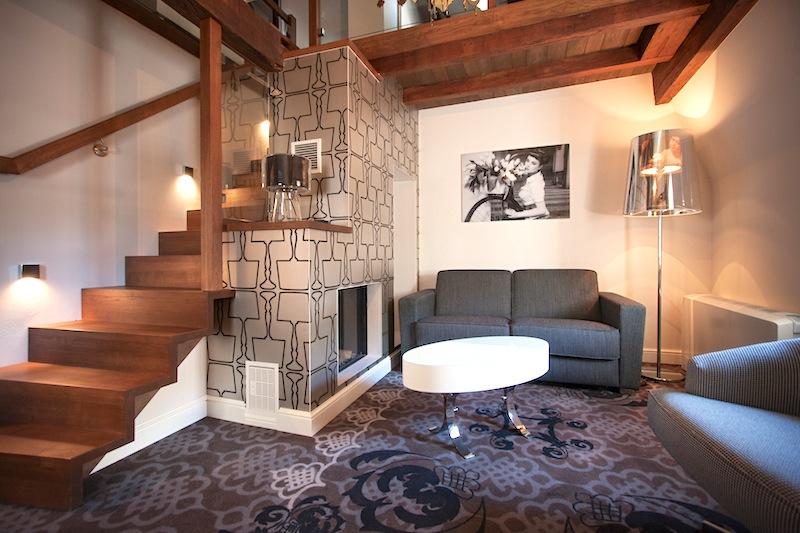 Im Hotel Le Clervaux ist die Duplex Suite über zwei Etagen aufgeteilt / © Hotel Le Clervaux