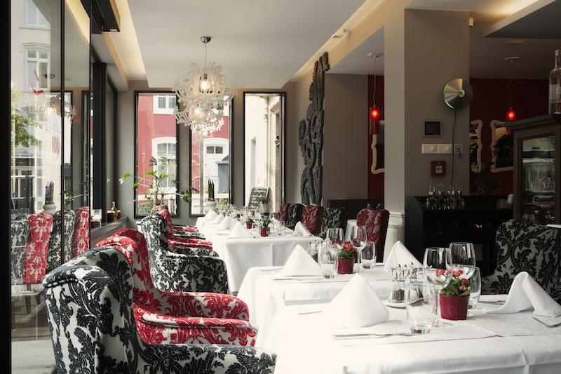 Edle und stylistisch. Das Restaurant Da Lonati im 5-Sterne Hotel Le Clervaux / © Hotel Le Clervaux