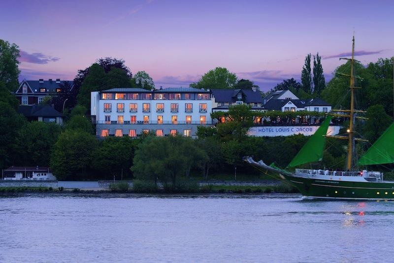Das Hotel Louis C. Jacob ist traumhaft an der Elbe gelegen / © Louis C. Jacob
