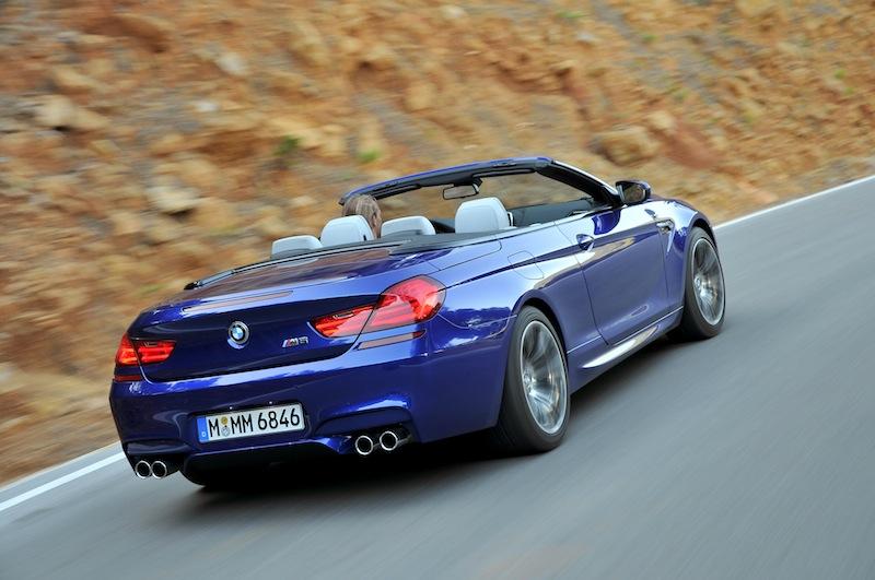 Die meisten sehen das BMW M6 Cabrion nur von hinten. Aber den sonoren und sportlichen Sound hört man nich mit Nachhall / © BMW AG, München