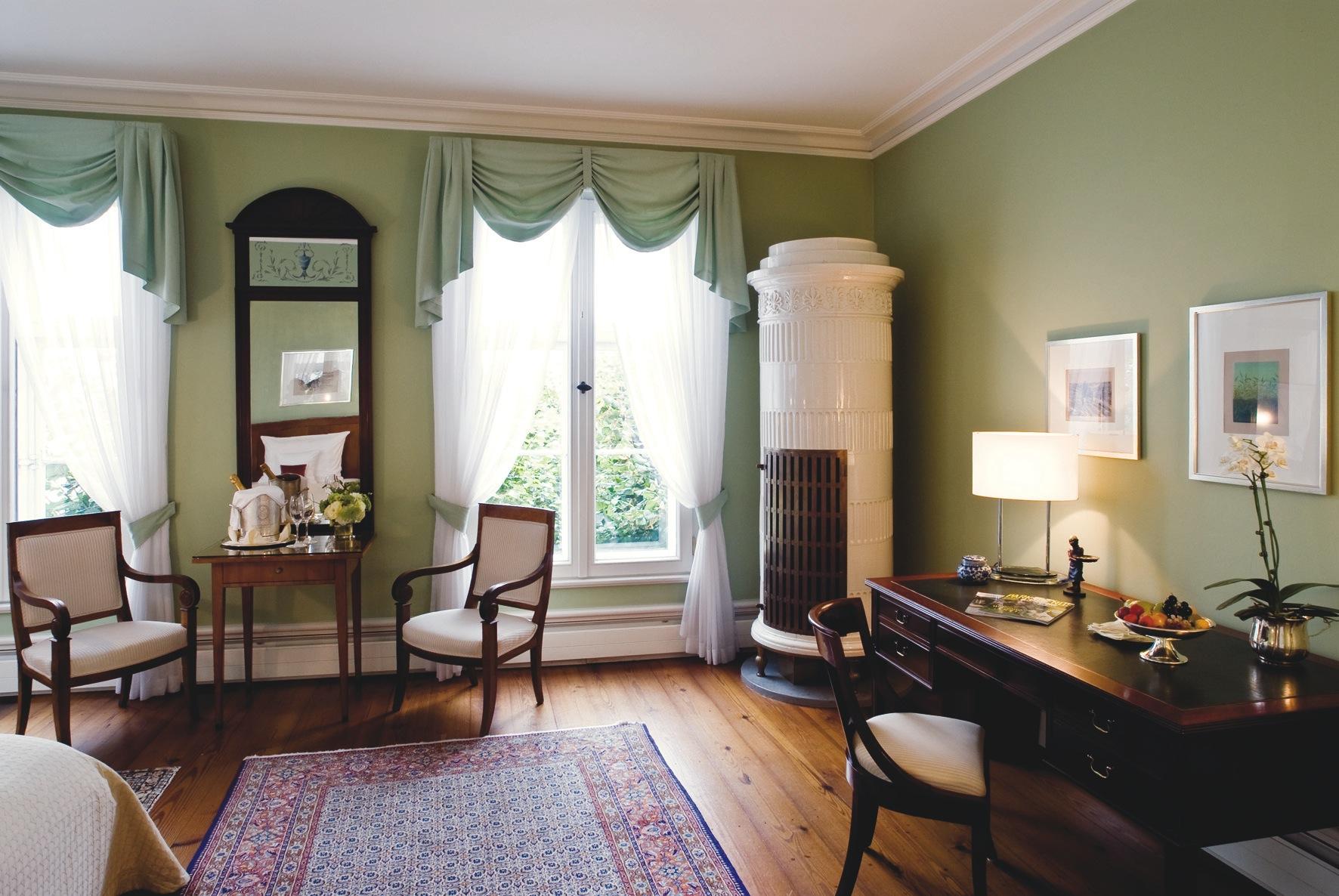 Das Liebermannzimmer liegt im ältesten Teil des Hotel Louis C. Jacob. Dieses wunderschön gestaltete Zimmer ist dem Künstler Max Liebermann gewidmet / © Louis C. Jacob