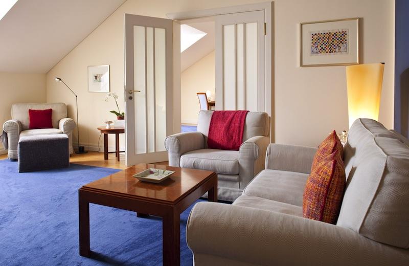 Gut 60 Quadratmeter versprechen in den Suiten vom Hotel Louis C. Jacob wahren Schlaf- und Wohnkomfort / © Louis C. Jacob