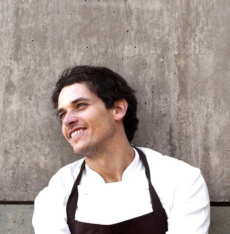"""Rodolfo Gúzman (Boragó, Santiago Chile), chilenischer Starkoch, wird als Nr. 5 von """"Latin America´s 50 Best Restaurants"""" / © für das Rheingau Gourmet & Wein Festival erteilt"""