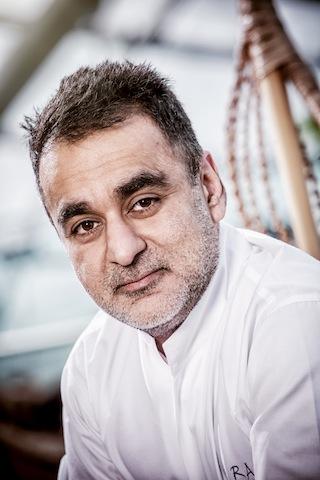 """Vineet Bhatia: Er ist heute weltweit das Gesicht der """"Indian Cuisine"""" / @ für das Rheingau Gourmet & Wein Festival erteilt"""