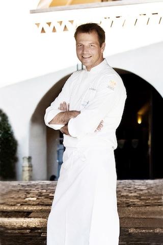 Thomas Kellermann** (Kastell, Burg Wernberg) zählt zu den besten Köchen Deutschland / @ für das Rheingau Gourmet & Wein Festival erteilt