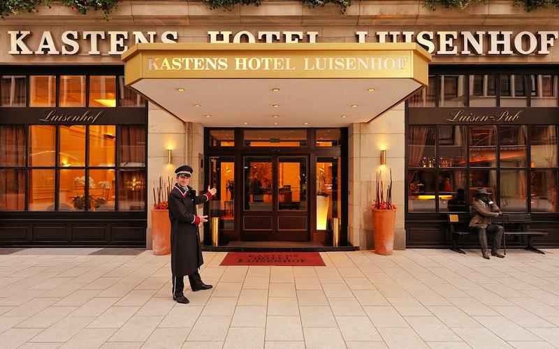 Das 5 Sterne Superior Kastens Hotel Luisenhof ist Hannovers erstes Haus am Platz