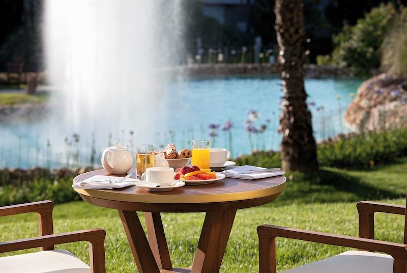 Das Frühstücksbuffet im Vila Vita Parc lässt keine Wünsche offen