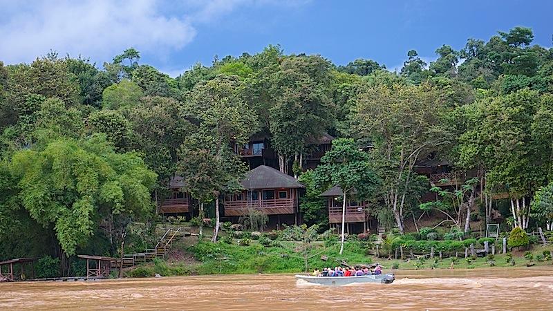 Angesagt sind auf Borneo auch Touren auf dem Sakai Fluss; von hier kann man die Flora und Fauna bestaunen