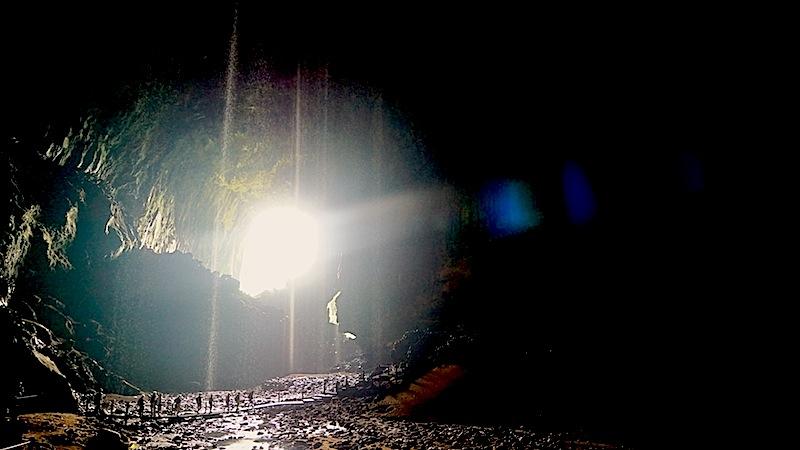 Höhle Deer Carve - Zeuge von Jahrmillionen
