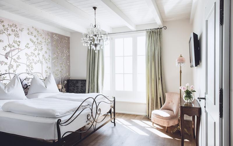 Eleganz und Stil zeichnen die Gästezimmer ud Suiten aus