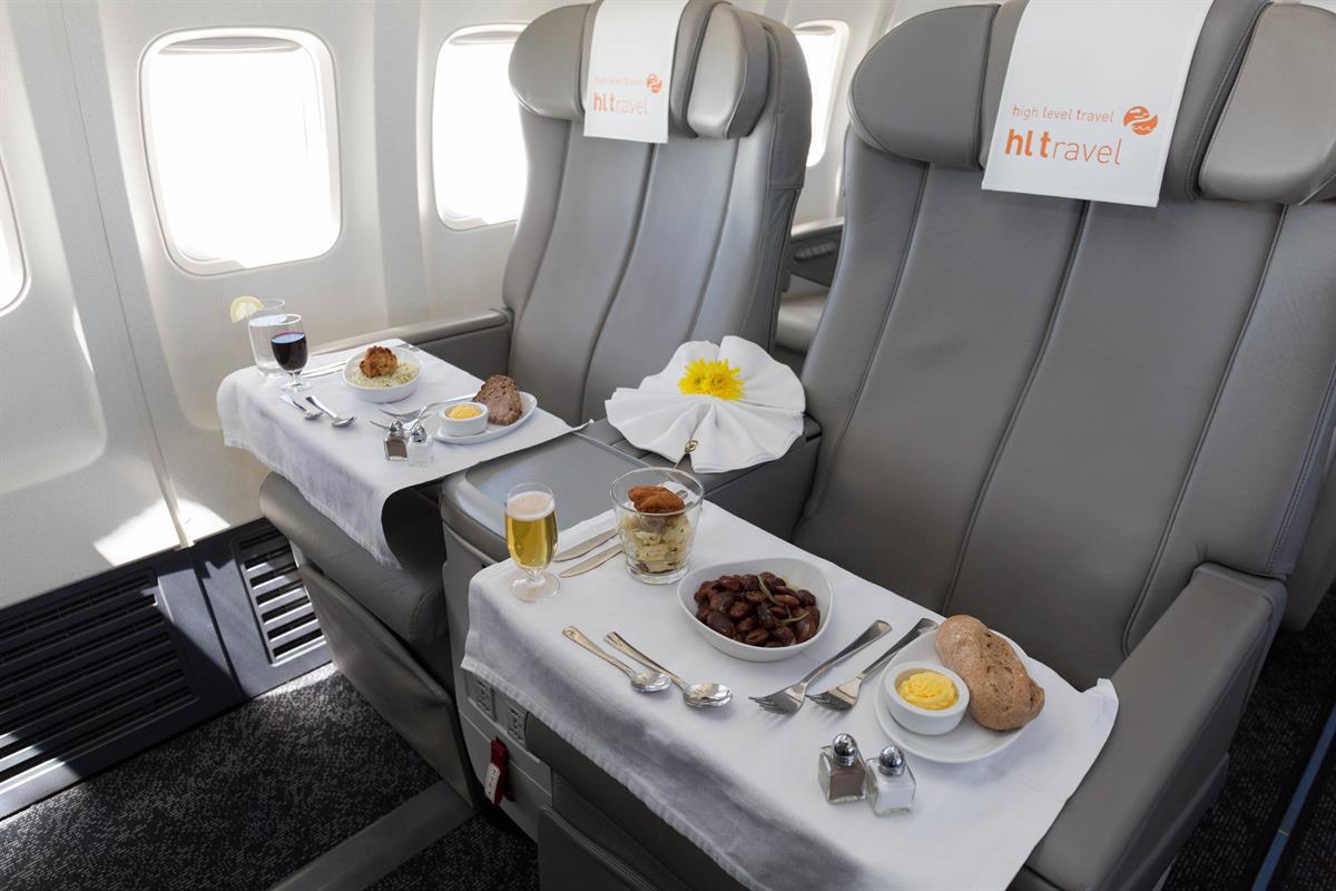 Höchster Sitzkomfort und feinste Kulinarik ist bei HL Travel Swiss zu erwarten