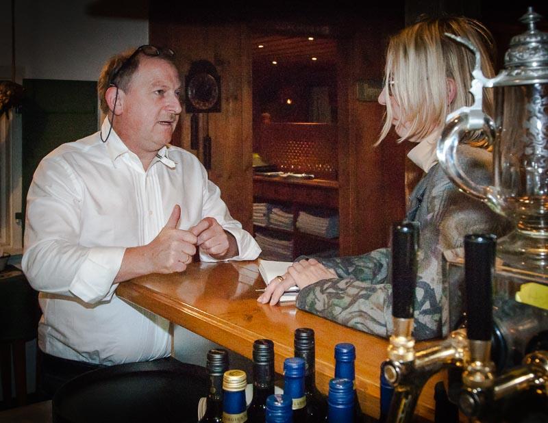 Ludger Fetz im Gespräch mit Lustfaktor-Autorin Angela Berg