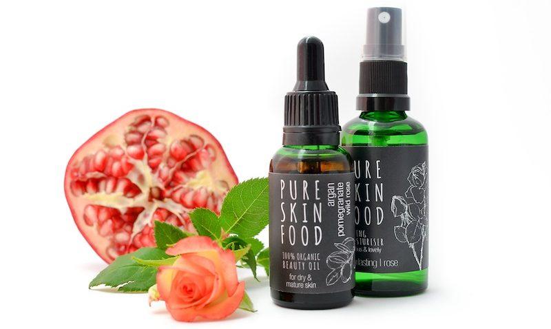 "Das Pflege-Set Rose ""Pure Skin Food"""